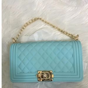 Baby Blue Jelly Bag